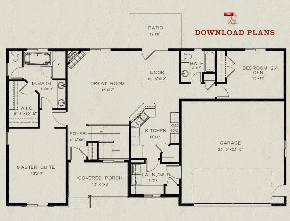 The rembrandt for Rembrandt homes floor plans
